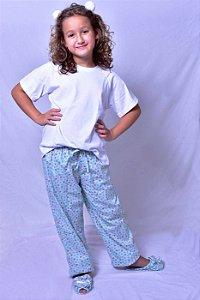 Pijama Sleep Corações Infantil