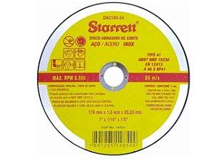 Starrett Disco De Corte 180x1,6MM DAC 180-24