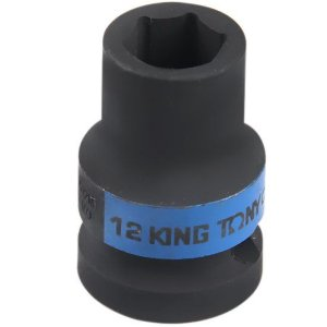 KING TONY SOQUETE DE IMPACTO SEXTAVADO 12MM 1/2