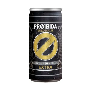 Cerveja Proibida Puro Malte Extra 269ml
