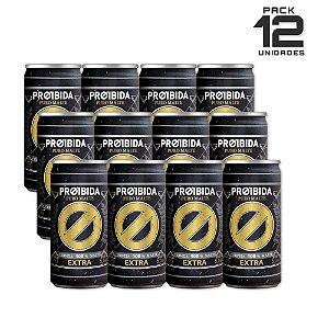 Cerveja Proibida Puro Malte Extra 269ml - Pack com 12