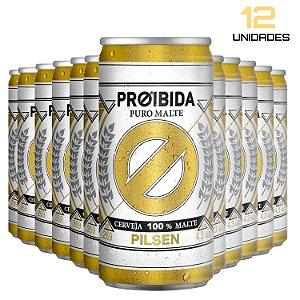 Cerveja Proibida Puro Malte 269ml - Pack com 12
