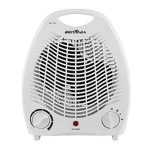 Aquecedor de Ar Britânia Portátil 1500 Watts 2 Temperaturas AB1100N Branco