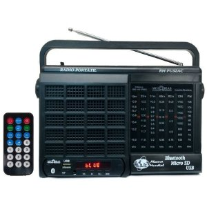 Radio Motobras 7 Faixas Bluetooth Usb AM/FM/OC 9698-2