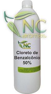 Cloreto De Benzalcônio 50% 1Lt Bactericida
