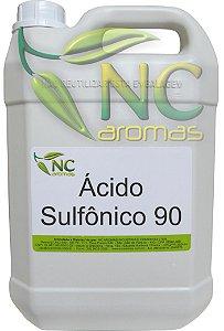 Acido Sulfônico 90 5,5Kg (5Lt) altíssimo padrão qualidade