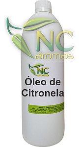 Óleo de Citronela 1Lt Óleo Essencial Natural de Citronela
