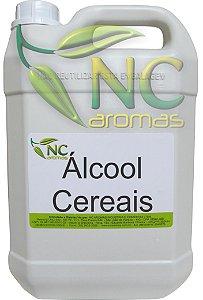 Alcool De Cereais 5Lt Puro