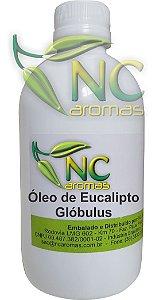 Óleo de Eucalipto Globulus 250ml Puro Óleo Essencial Natural
