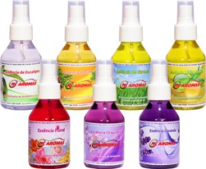 12 Aromatizante de Ambientes Spray 100ml Casa e Carro