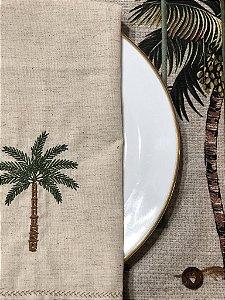 Guardanapo Bordado - Palmeira