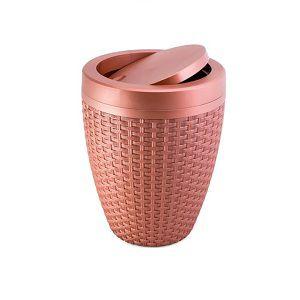 Cesto Plástico Rattan 7.5 Litros Aquaplas