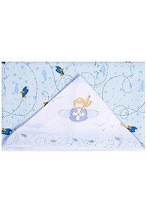 Toalha de Banho Papi Forrada Aventura Branco