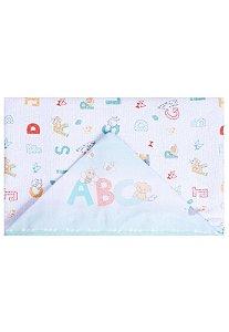 Toalha de Banho Papi Forrada ABC Branco