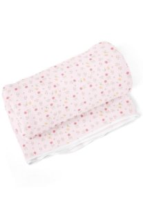 Cobertor Papi Floral Branco