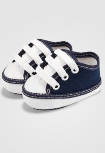 Tênis Zupt Baby Bebê Azul Marinho e Branco
