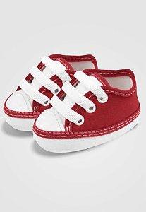 Tênis Zupt Baby Bebê Vermelho e Branco