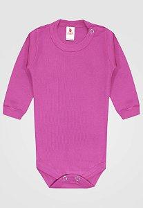 Body Zupt Baby Longo Básico Pink
