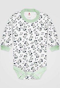 Body Zupt Baby Ursinho Verde
