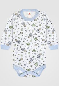 Body Zupt Baby Bebê Menino Azul