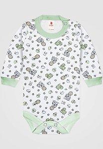 Body Zupt Baby Bebê Menino Verde