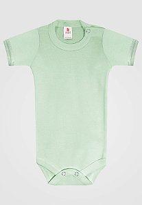 Body Zupt Baby Curto Básico Verde