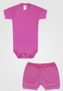 Conjunto 2pçs Zupt Baby Curto Pink