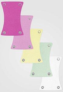 Kit 5pçs Extensor de Body Zupt Baby Menina