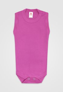 Body Zupt Baby Regata Básico Pink