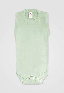 Body Zupt Baby Regata Básico Verde