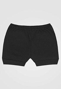 Shorts Zupt Baby Básico Preto