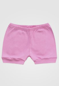 Shorts Zupt Baby Básico Rosa