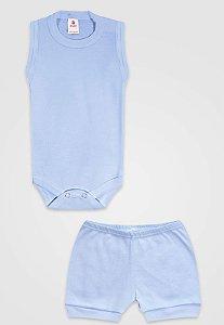 Conjunto 2pçs Zupt Baby Regata Azul