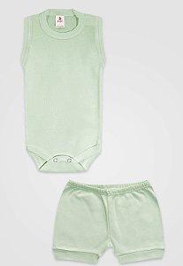 Conjunto 2pçs Zupt Baby Regata Verde