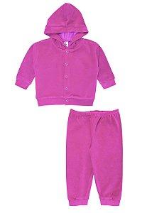 Conjunto 2pçs Zupt Baby Plush Pink