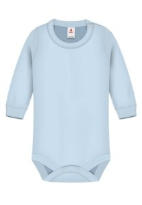 Body Básica Lisa, Zupt Baby, Azul