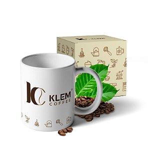 Caneca Porcelana Klem Coffee