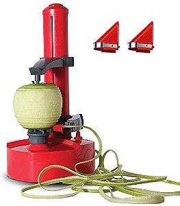 Descascador Elétrico Automático Vermelho