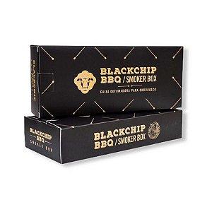 Caixa de Defumação Aço Inox Blackchip