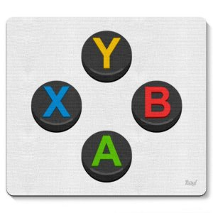 Mouse Pad PC Gamer Caixista Controle XB 23x20cm Yaay! PAD055
