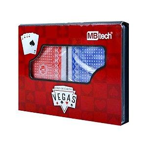 Jogo de Cartas Baralho Plástico 108 Cartas MBTech MB57043