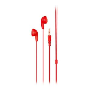 Fone de Ouvido Básico Estéreo P2 Vermelho Multilaser PH315
