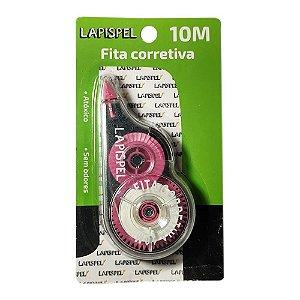 Fita Corretiva 5mm 10 Metros Rosa Lapispel 802422