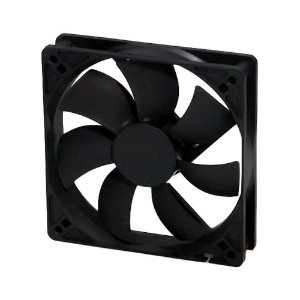Cooler Fan 120mm 12cm Ventoinha Gabinete Preto Dex DX-12C