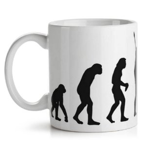 Caneca de Cerâmica 325ml Geek Evolution Yaay! CAN105