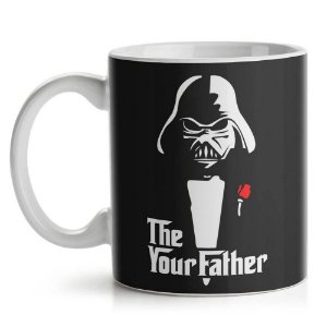 Caneca de Cerâmica 325ml Geek Side Father Yaay! CAN122