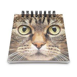 Bloco de Anotações 60 Folhas Cat Face Yaay! BLO023