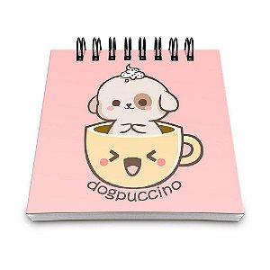 Bloco de Anotações 60 Folhas Dogpuccino Yaay! BLO054