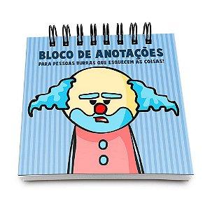 Bloco de Anotações 60 Folhas DrPepper Paiaço Yaay! BLO049
