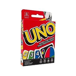 Jogo de Cartas Uno Baralho com 114 Cartas Copag